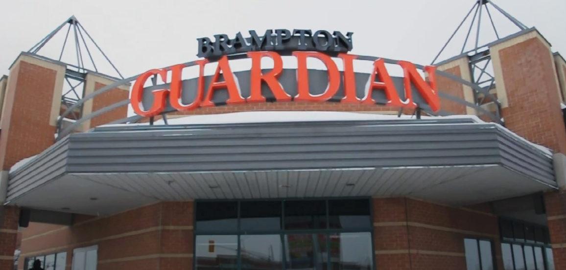 Brampton Guardian sign