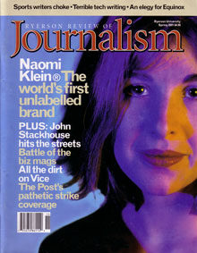 Spring 2001 Issue