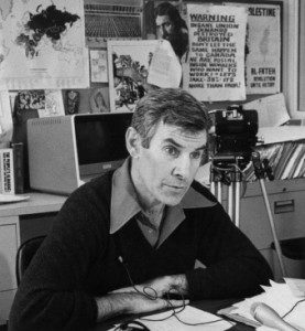 Peter Worthington in office