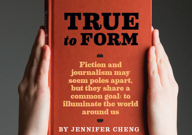 "Novel picture of ""True to Form"" by Jennifer Cheng"