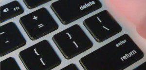 Close up photo of a keyboard