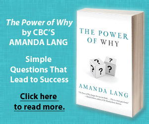 The Power of Why by Amanda Lang novel cover
