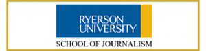 Ryerson University School of Journalism logo