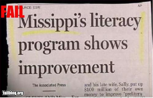 """Newspaper title misspelling """"Missippi"""""""