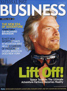 National Post Business magazine cover