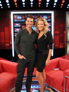 Tom Cruise and Cheryl Hickey