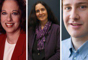 L-R: Esther Enkin, Ellie Kirzner and Jeremy Keehn