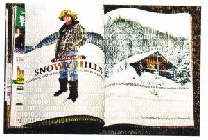 """Magazine pages """"The Man from Snowy Hills"""""""