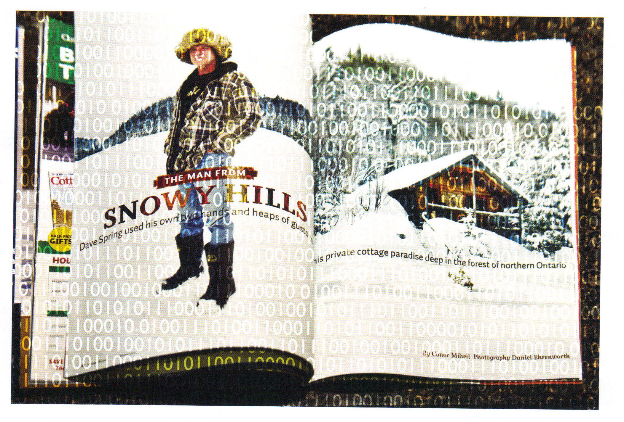 "Magazine pages ""The Man from Snowy Hills"""
