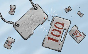 Dog tags breaking