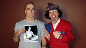 Henry Rollins with Nardwuar