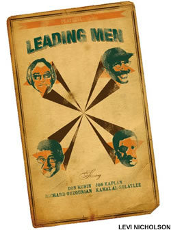 Leading men card