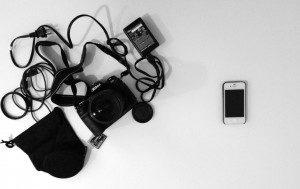 Camera vs iphone