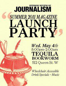 RRJ Summer 2011 Launch