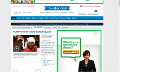 The Star website
