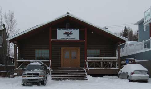 CKLB 101.9 FM building