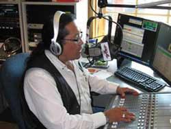 William Greenland on radio
