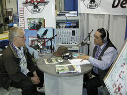 Interview on the radio with William Greenland