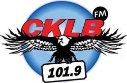 CKLB 101.9 FM logo