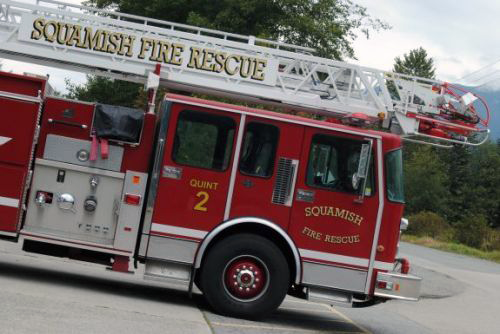 Squamish Fire Truck