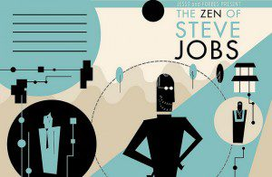 "Illustration ""Jess3 and Forbes Present The Zen of Steve Jobs"""