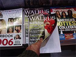 The Walrus, People, and Newsweek