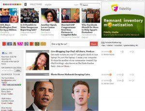 Gawker webpage