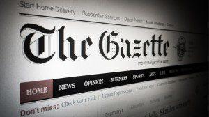 The Gazette website