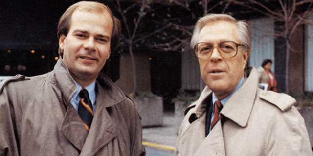 Peter Mansbridge and Knowlton Nash