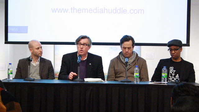 Wilf Dinnick, Doug Knight, Jeff Anders, and George Sully