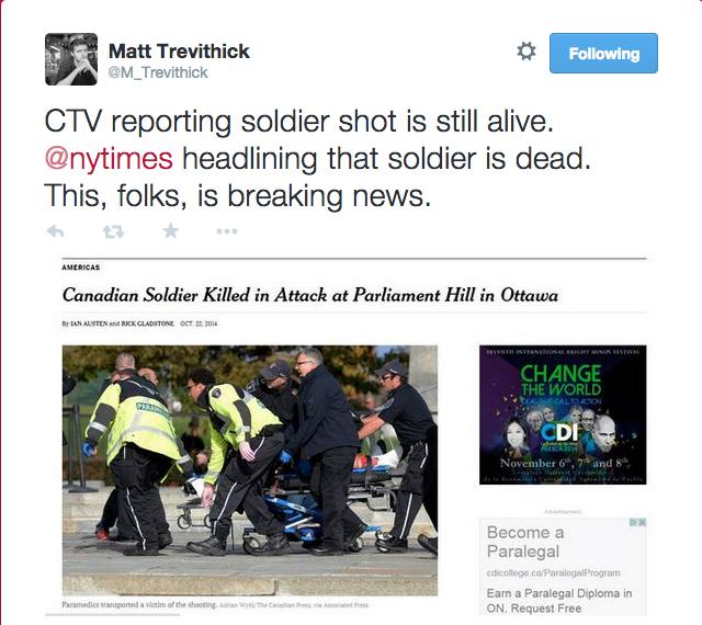CTV NYT attack ottawa