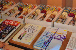 condiments and cookbooks