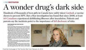 """""""A wonder drug's dark side"""" Star Investigation article"""