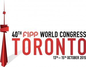 40th FIPP World Congress Toronto logo