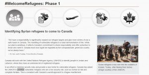 #WelcomeRefugees: Phase 1 info page