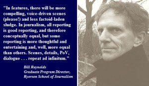 Bill Reynolds quote