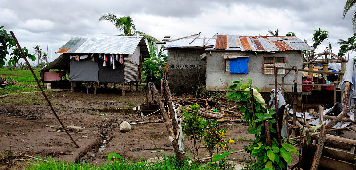 Foreign homes of poor
