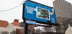 Toronto Star billboard