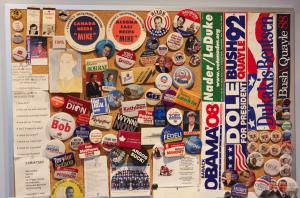 Steve Paikin political memorabilia