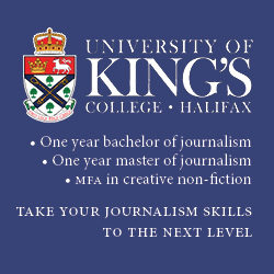 University of King's College Journalism ad