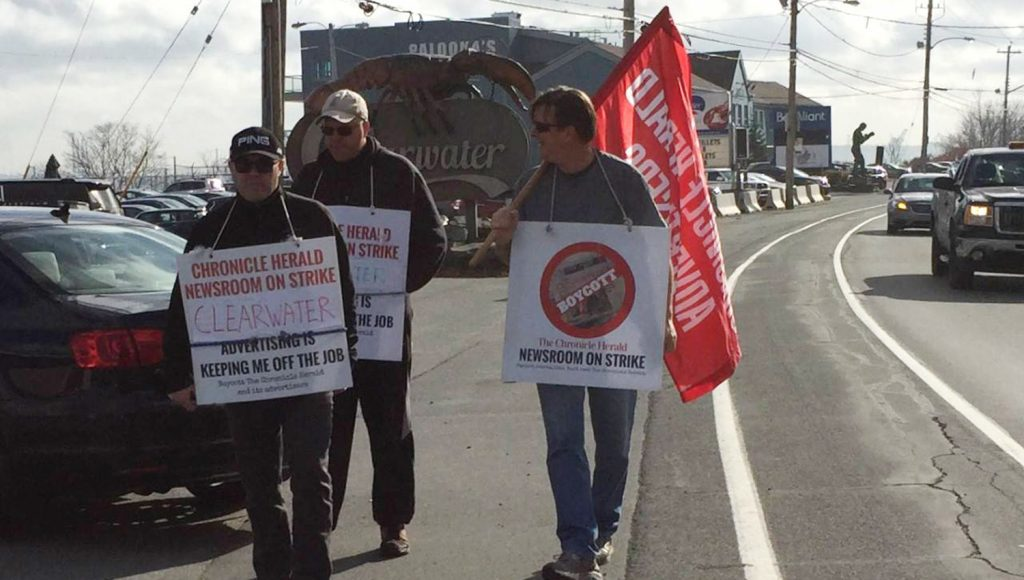 The Herald strike has lasted 298 days as of November 15.