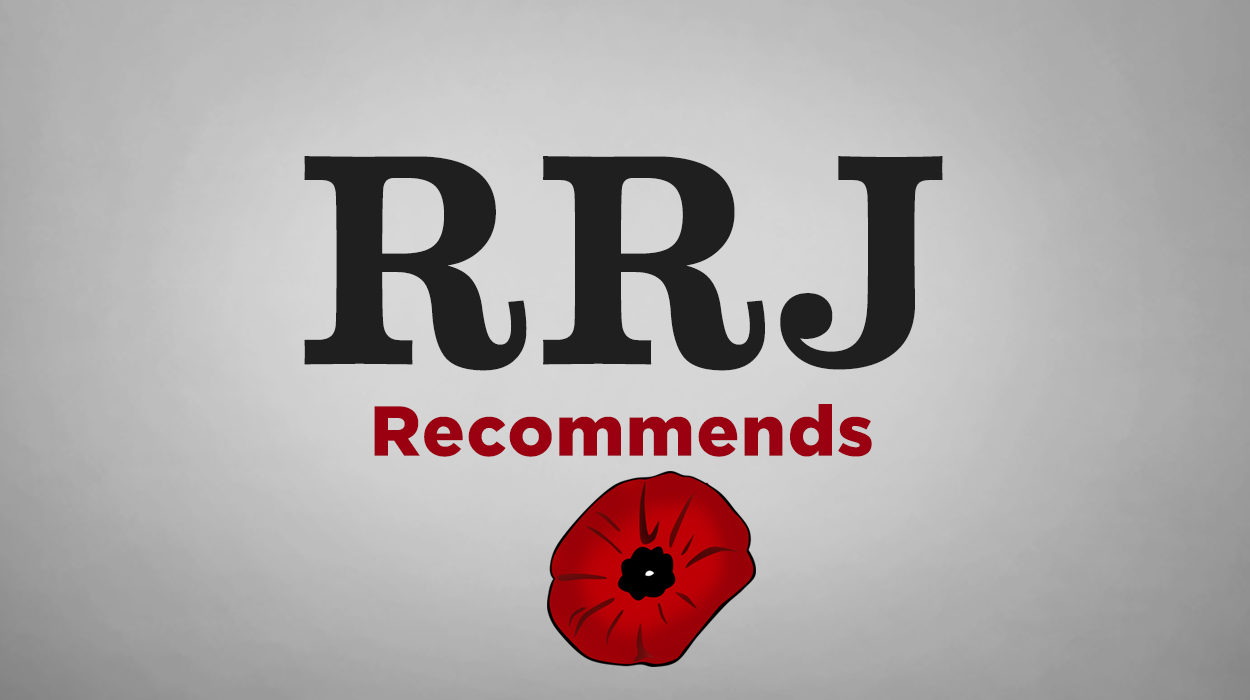 RRJ Recommends logo with poppy image