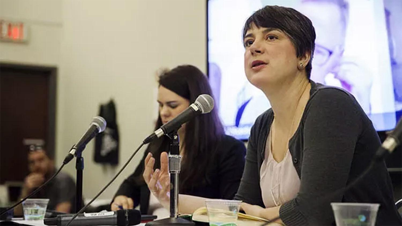 Erin Millar, Discourse Media's editor-in-chief and CEO