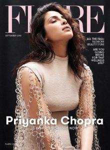 Cover of Flare depicting actress Priyanka Chopra.