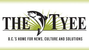 The Tyee, B.C.'s Home For News Culture and Solutions logo