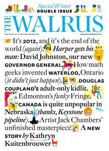The Walrus Special Winter Double Issue graphic