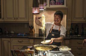 Karon Liu cooking