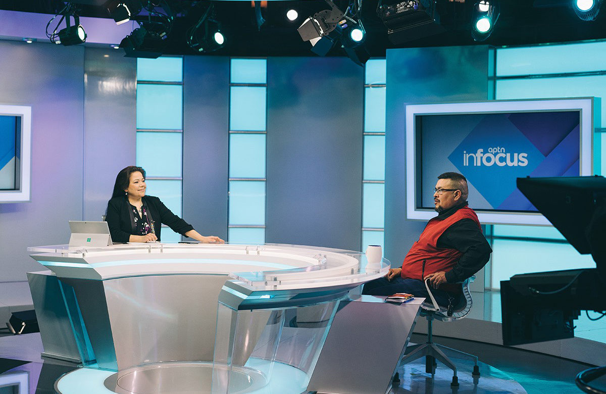 Interview on aptn infocus