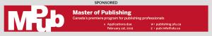 Simon Fraser University Master of Publishing ad