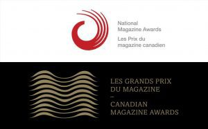 Logos for the National Magazine Awards and Canadian Magazine Awards